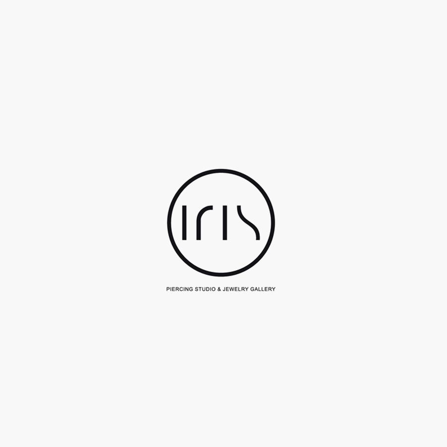 Iris fashion logo