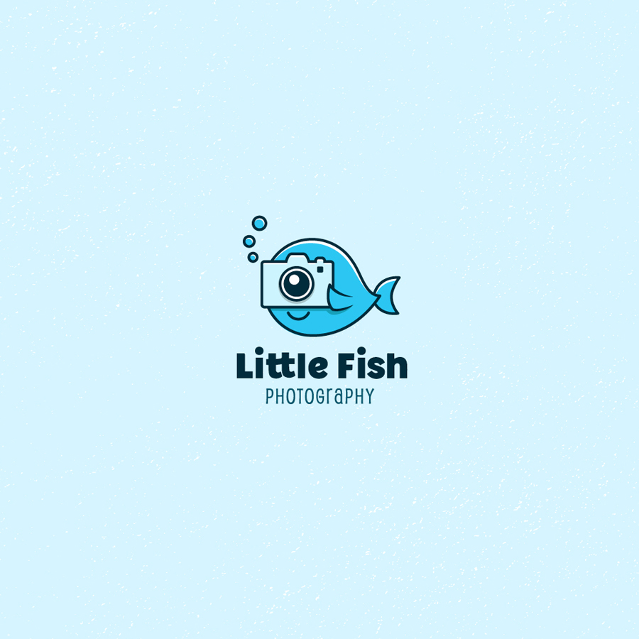 Photography logo design 44 photography logos worth for How to make fish in little alchemy