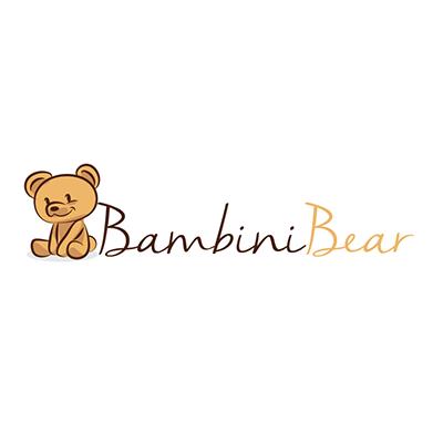 Bambini Bear logo concept