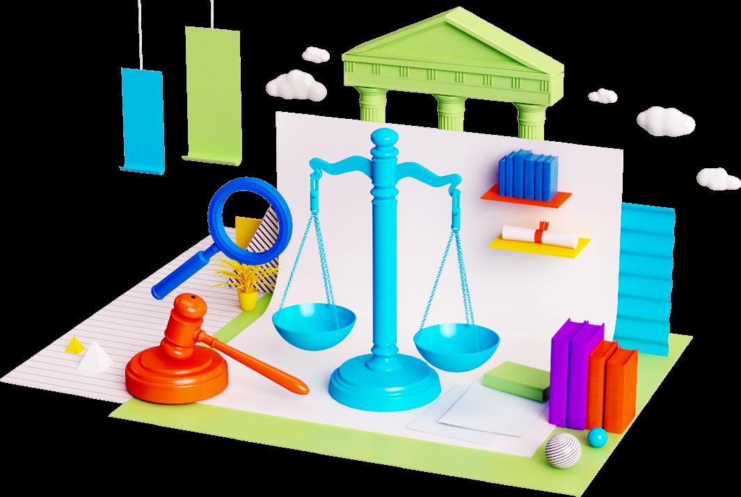 Legal illustration by Pinch Studio
