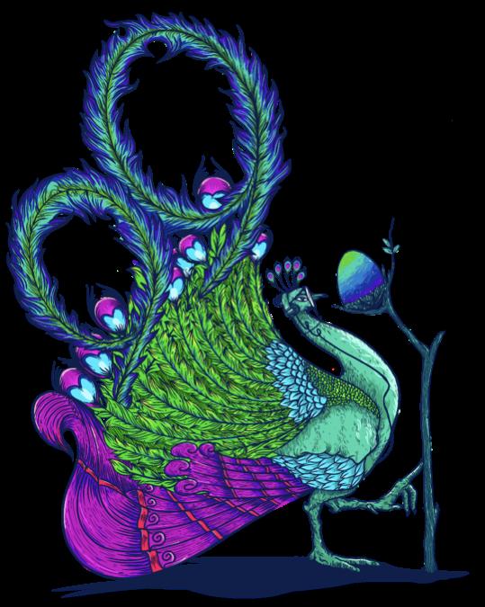 99designs Peacock by Jamurtai