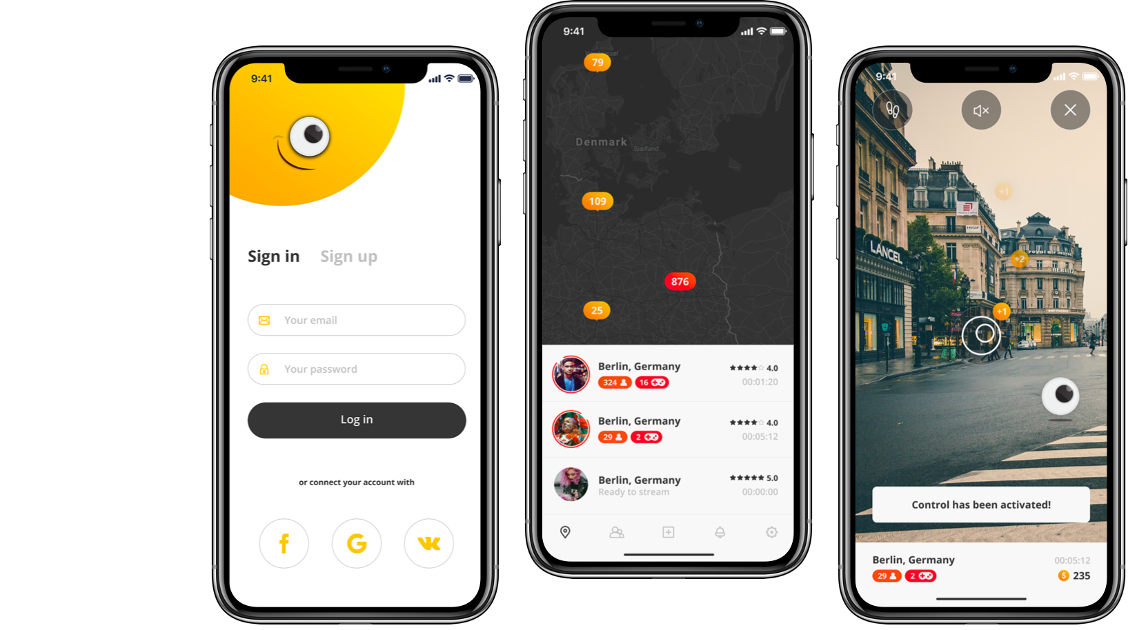 mobile-app-design by Skowish