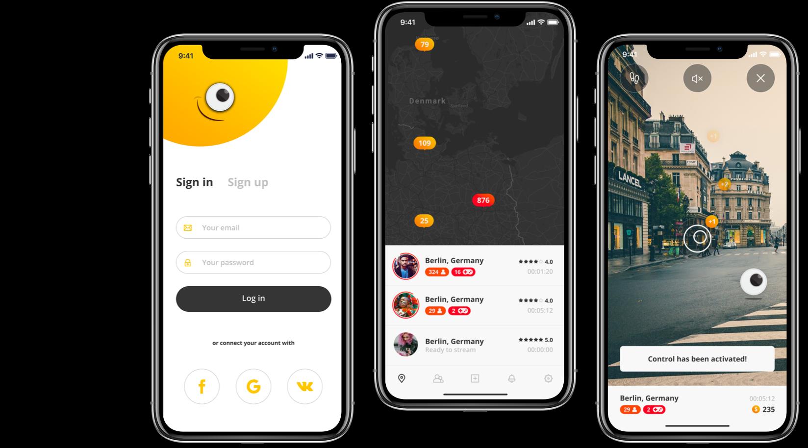 mobile-app-design par Skowish