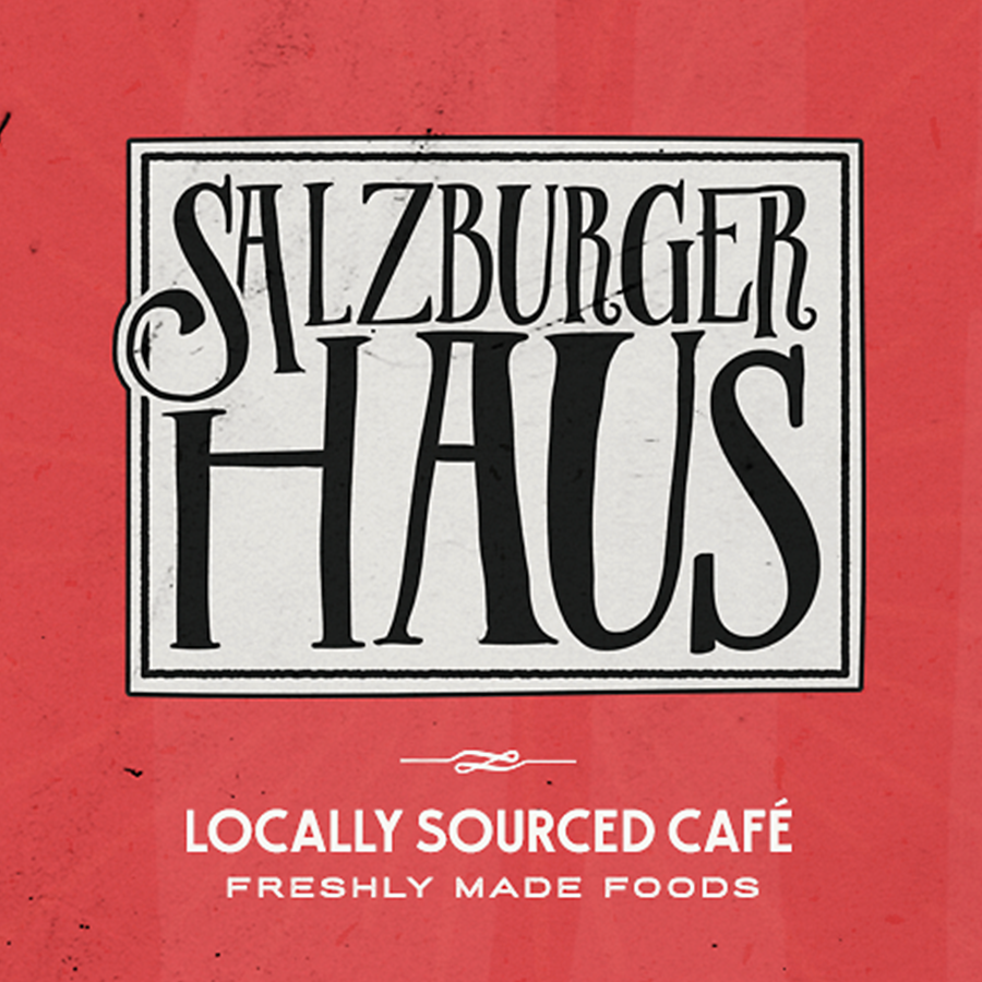 Logo design for salzburgerhaus by nevergohungry
