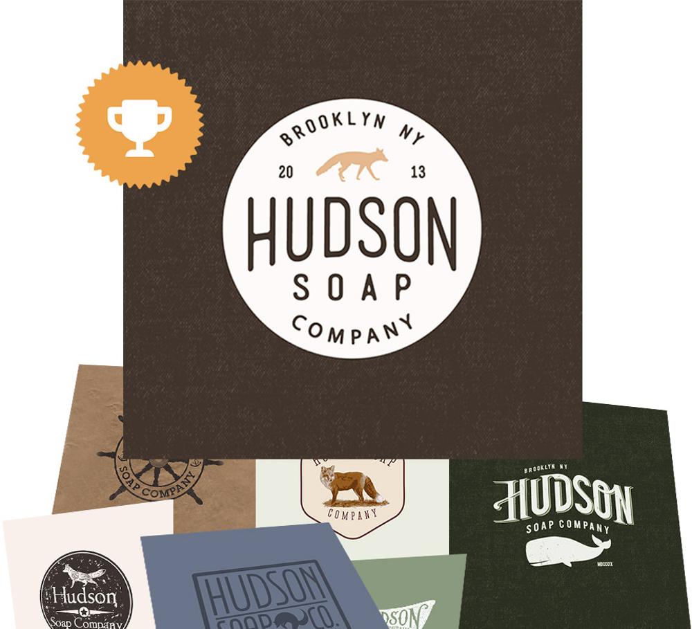 Hudson soap company logo contest